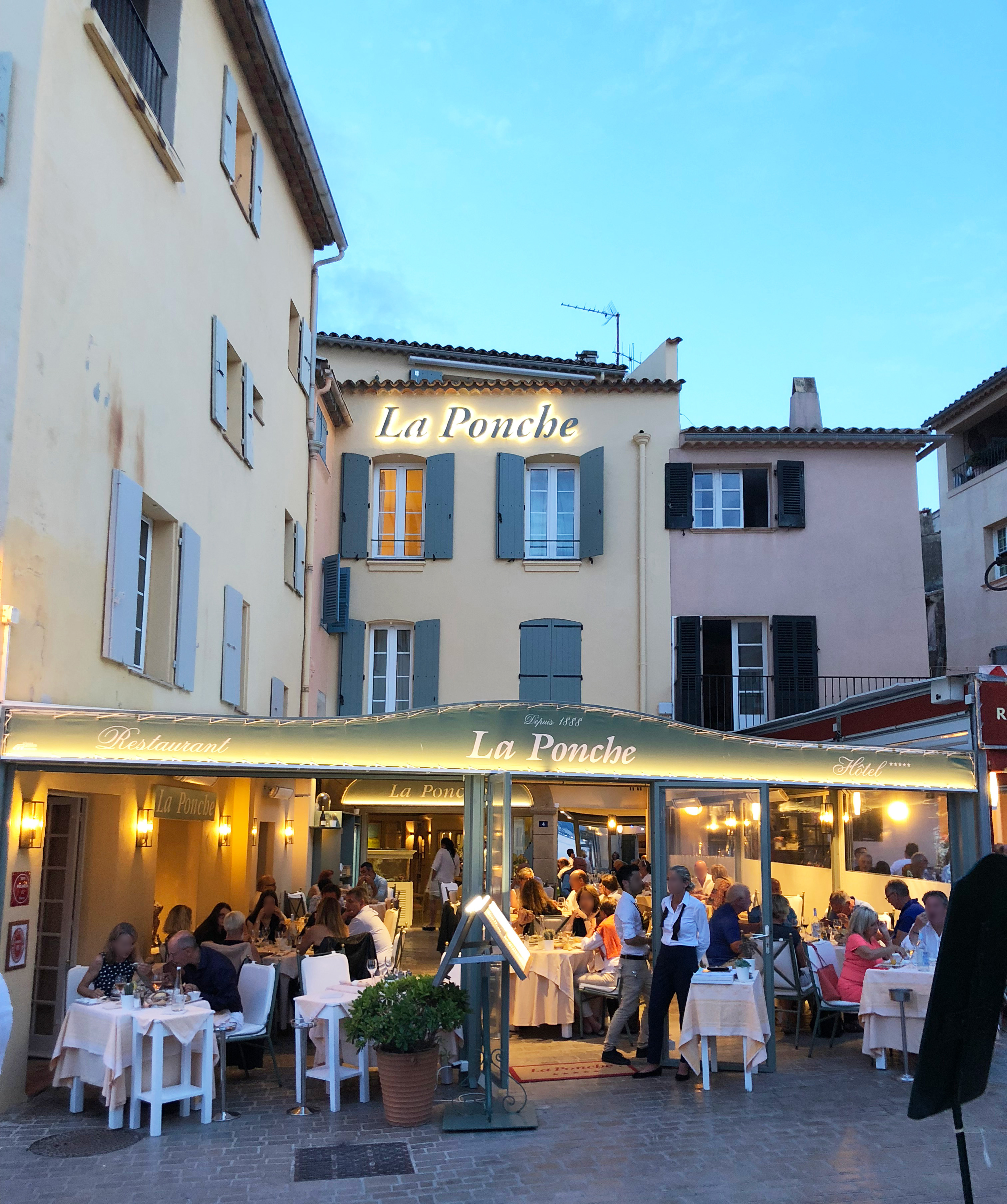 La Ponche Restaurant Saint Tropez