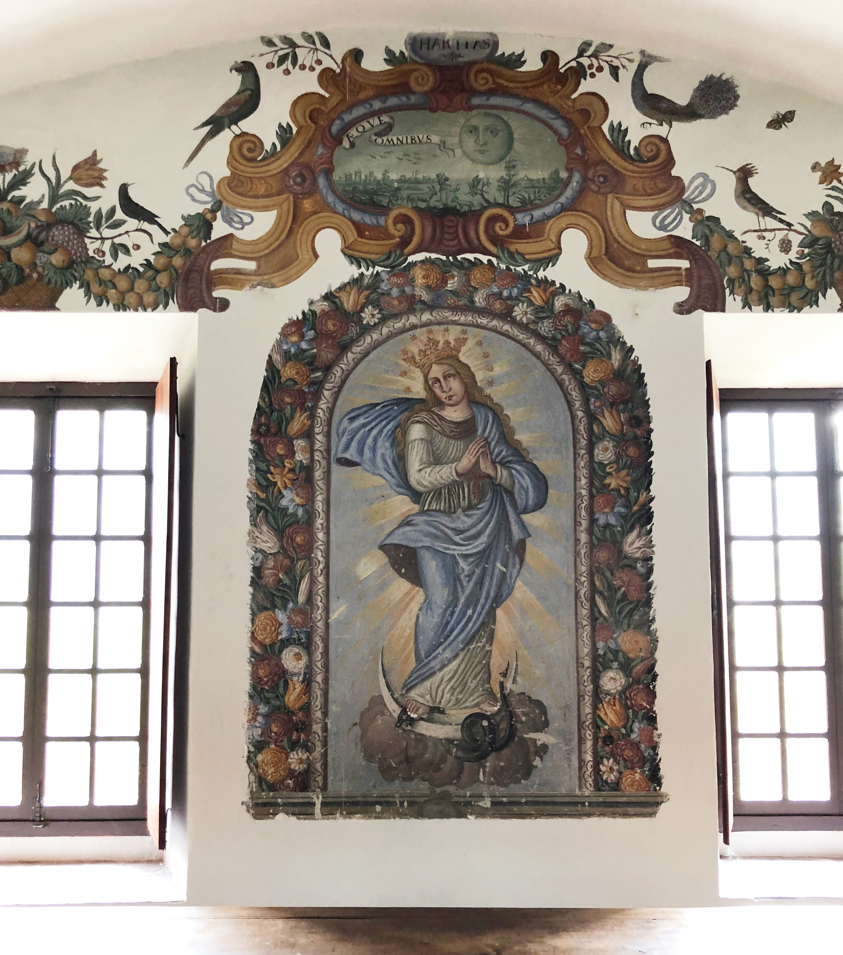 Fresque du Monastère de Saorge