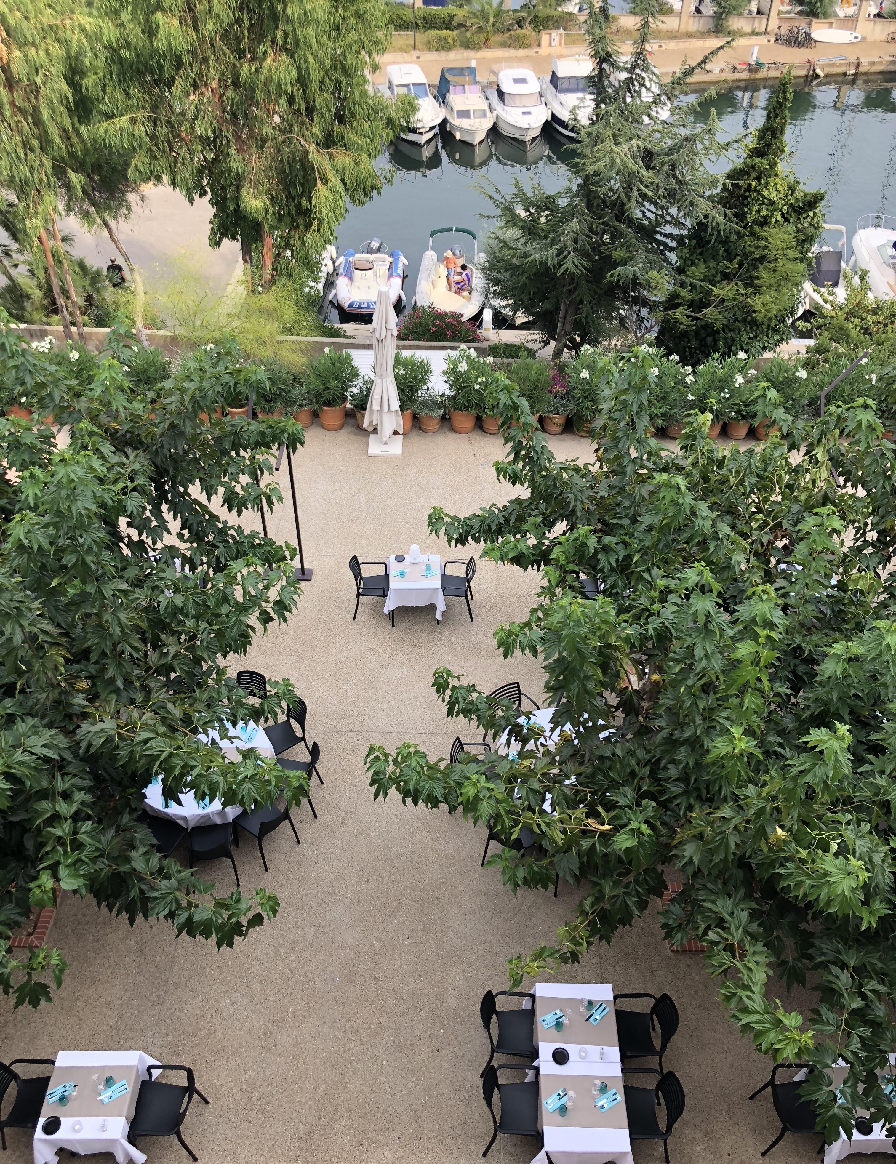 Les Jardins d'Helios - Restaurant Les Embiez