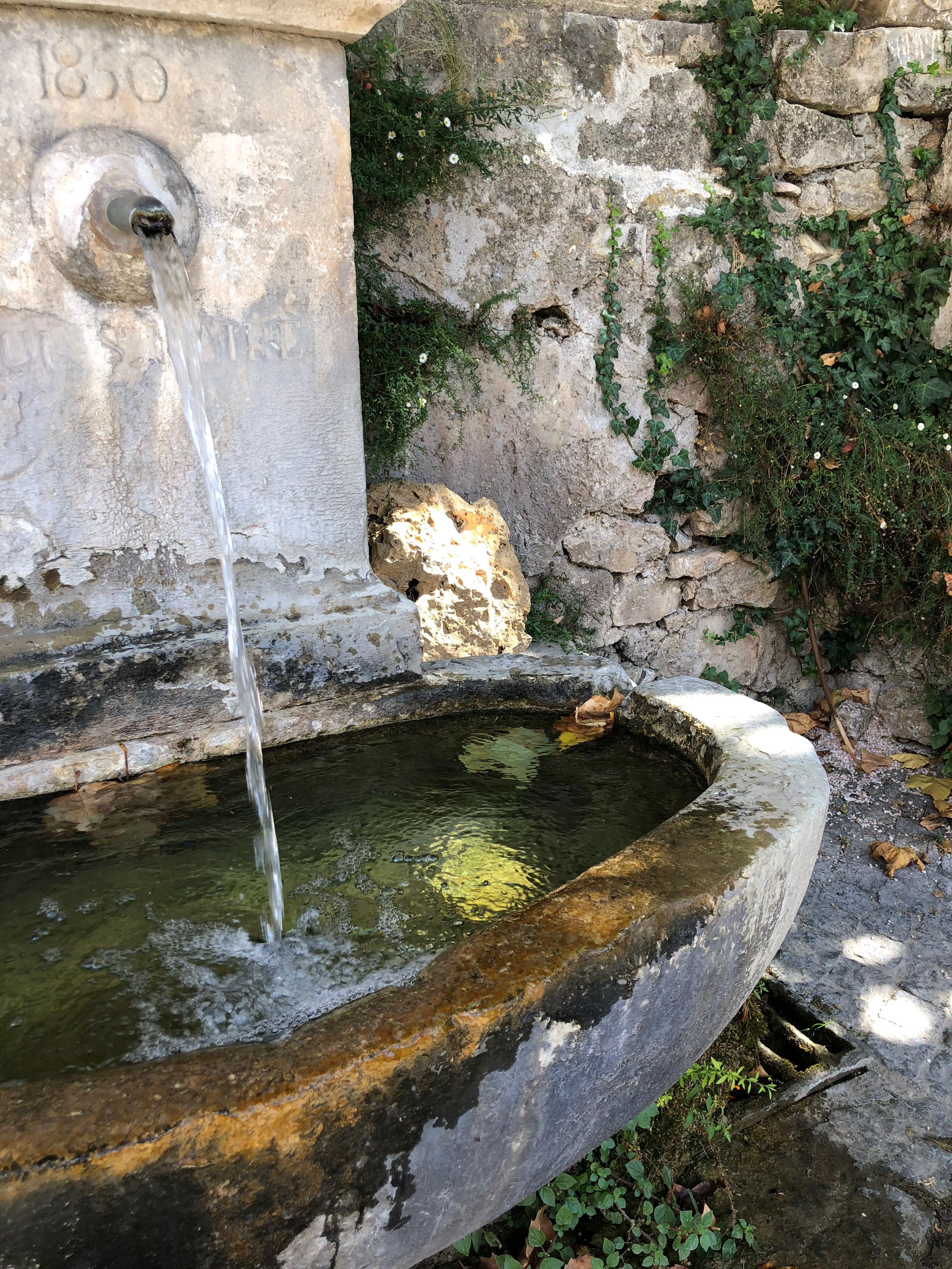 Fontaine Tourtour