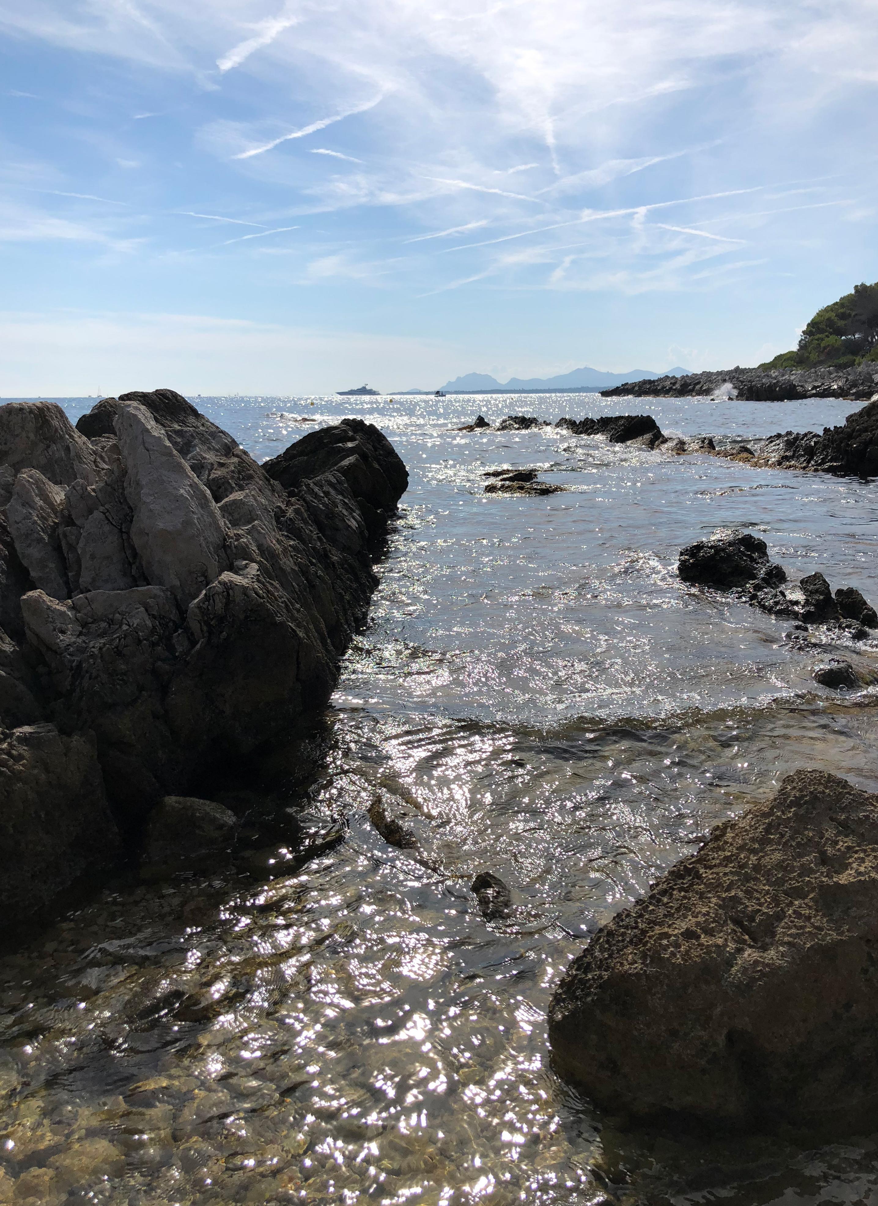 Baignade Cap d'Antibes