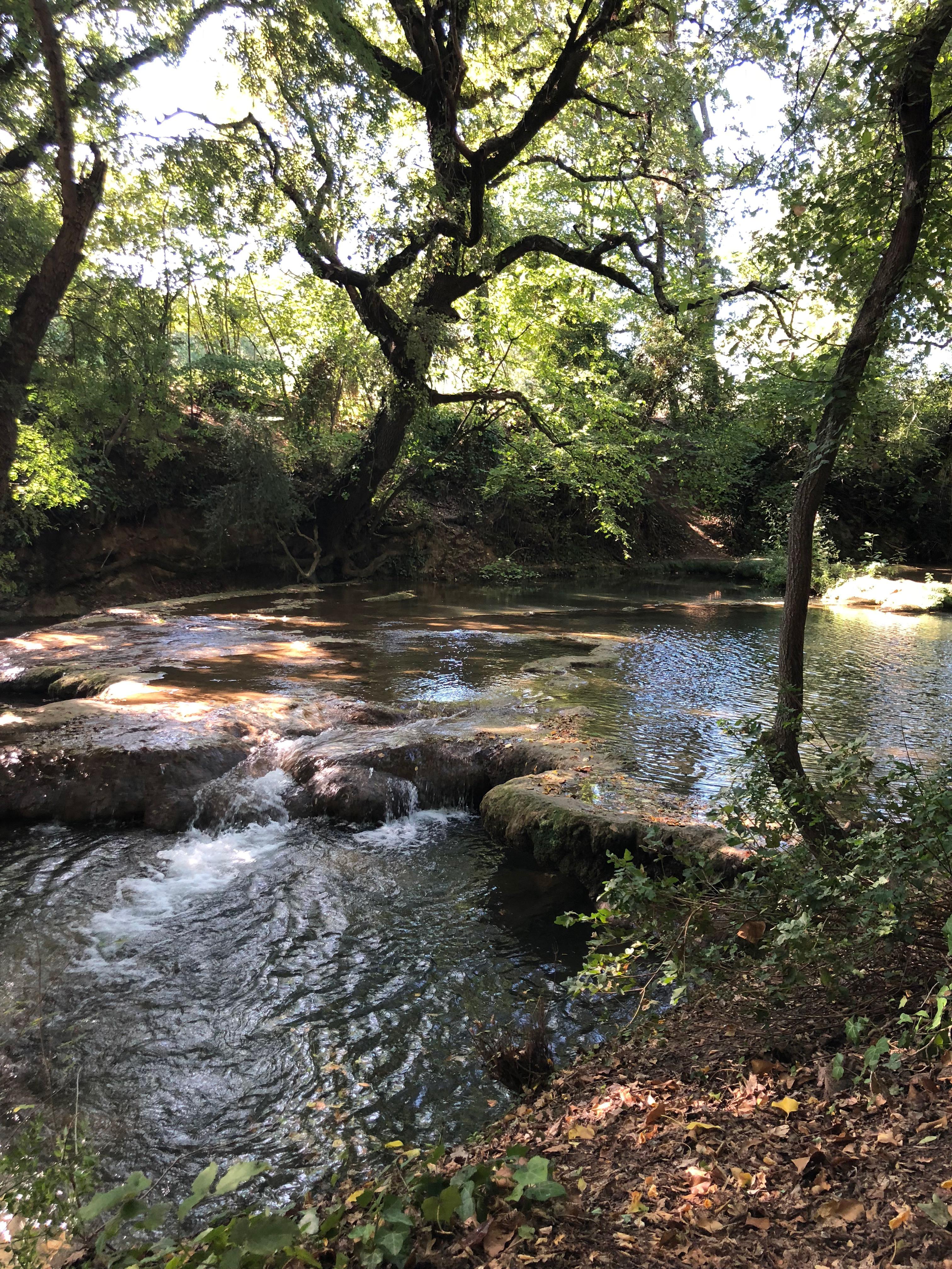Rivière Sillans la Cascade