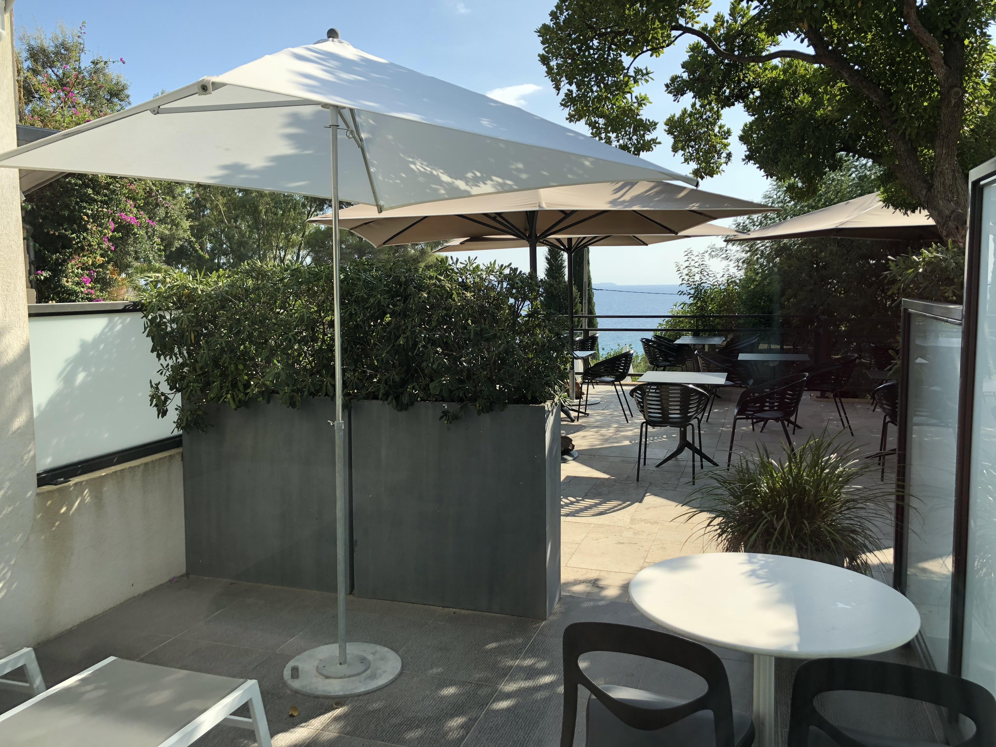 Les terrasses du Bailli Hôtel