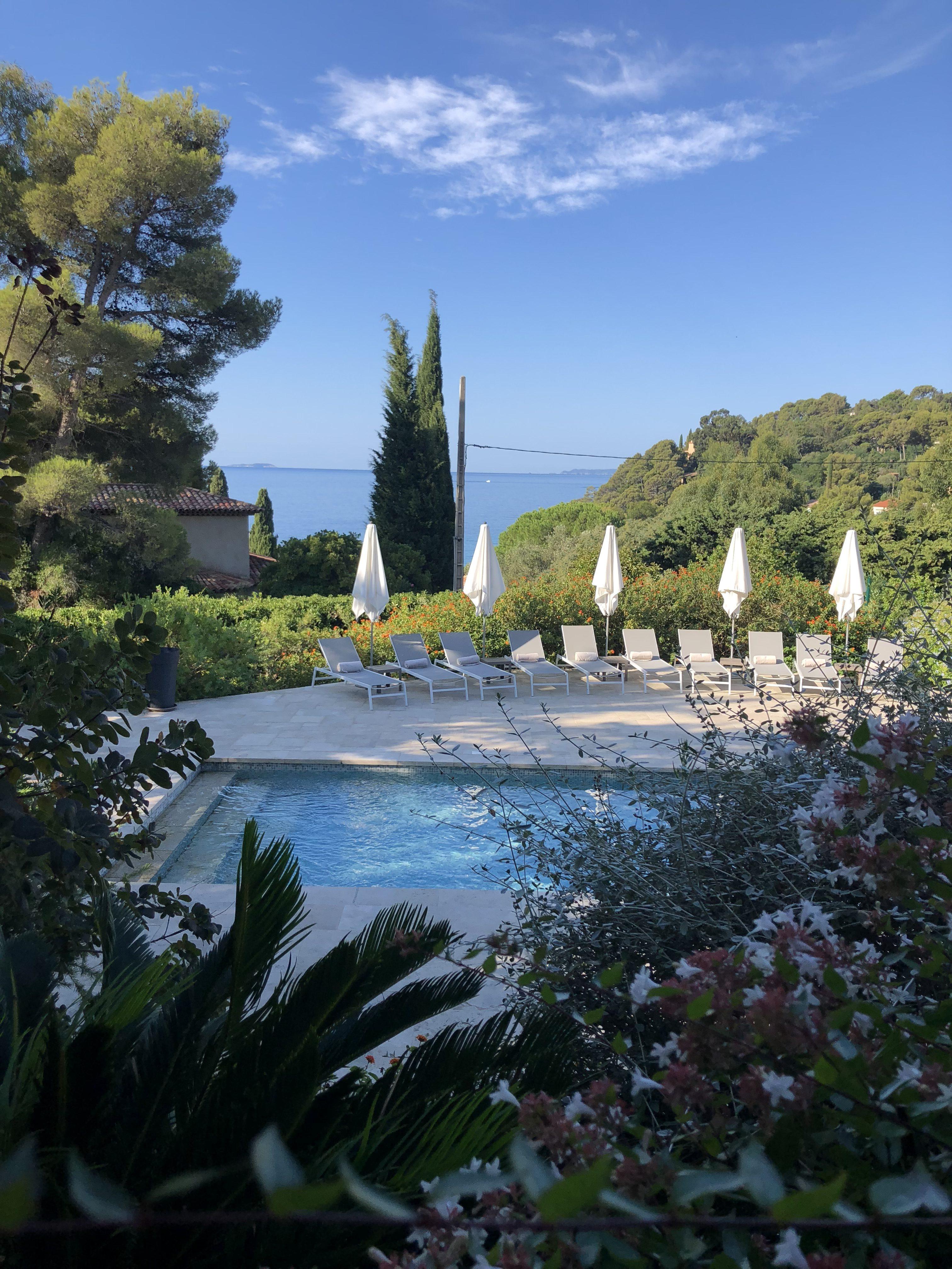 Les terrasses du Bailli Piscine