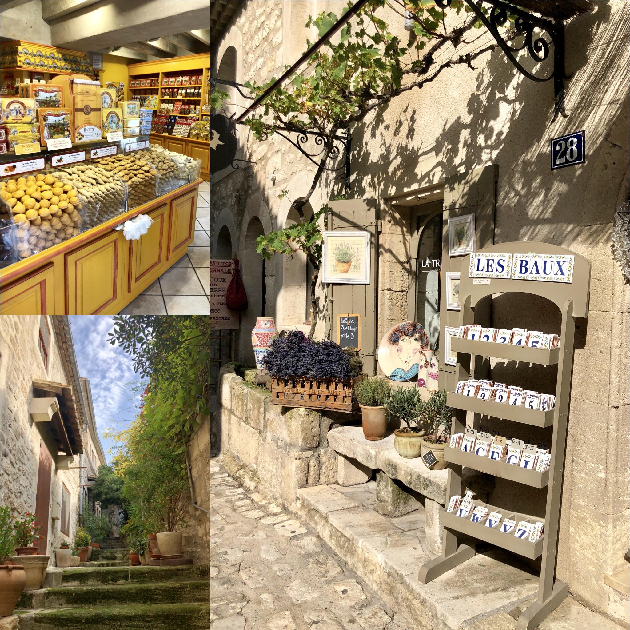 Les Baux de Provence ruelles