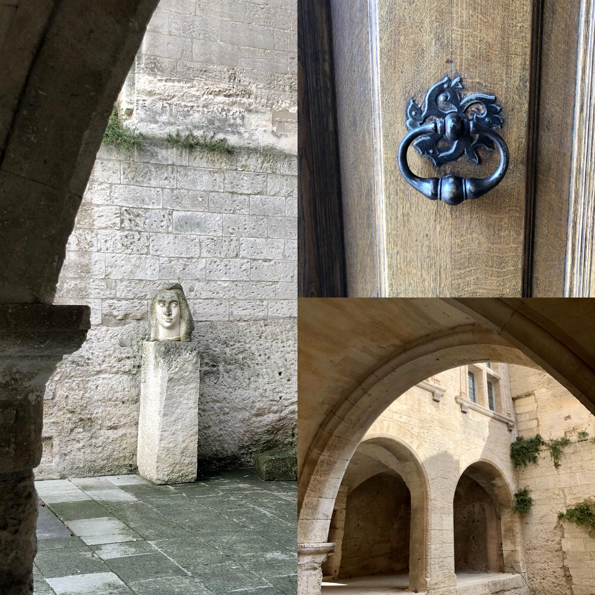 Les Baux de Provence médiéval