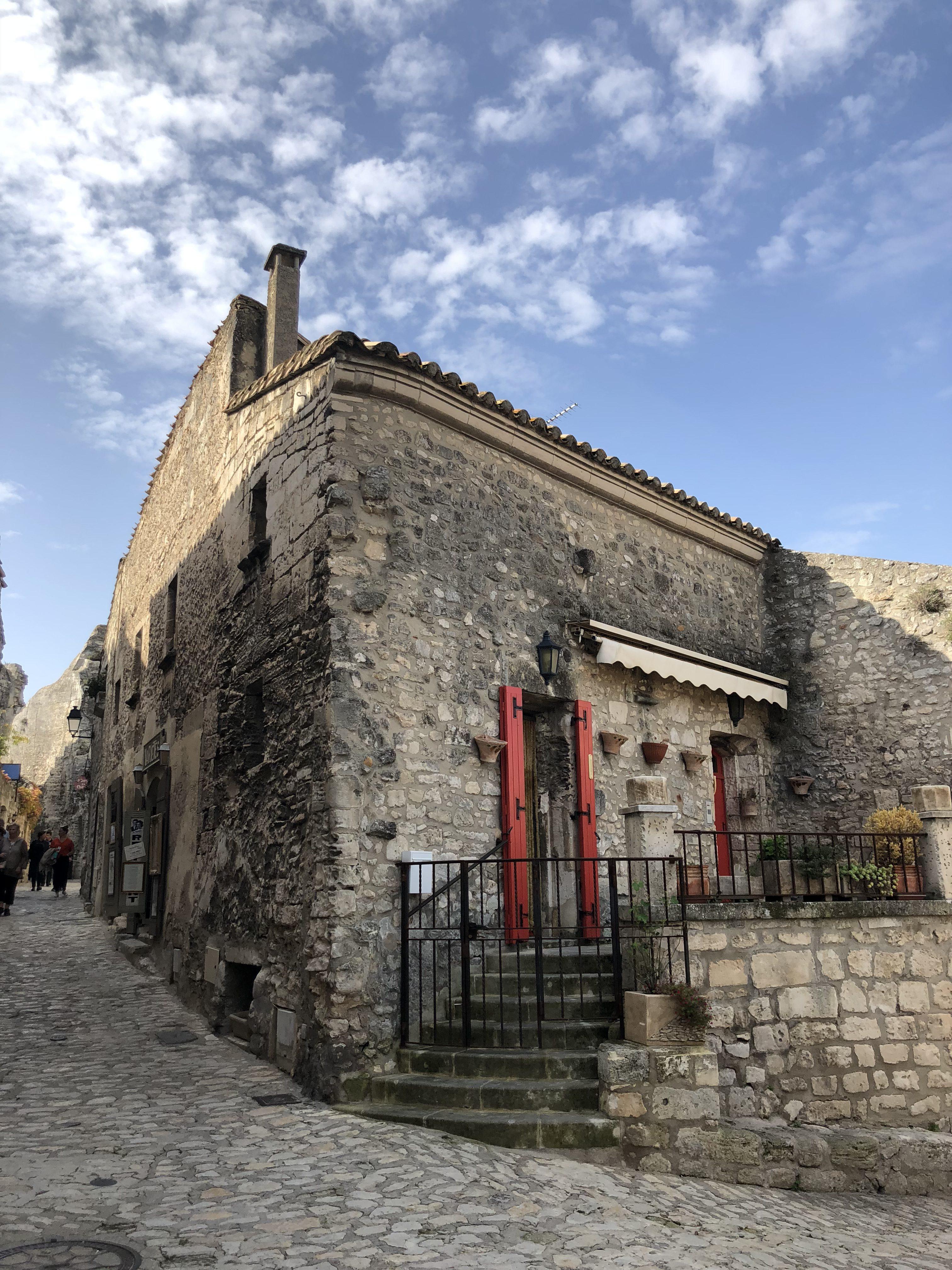 Les Baux de Provence village