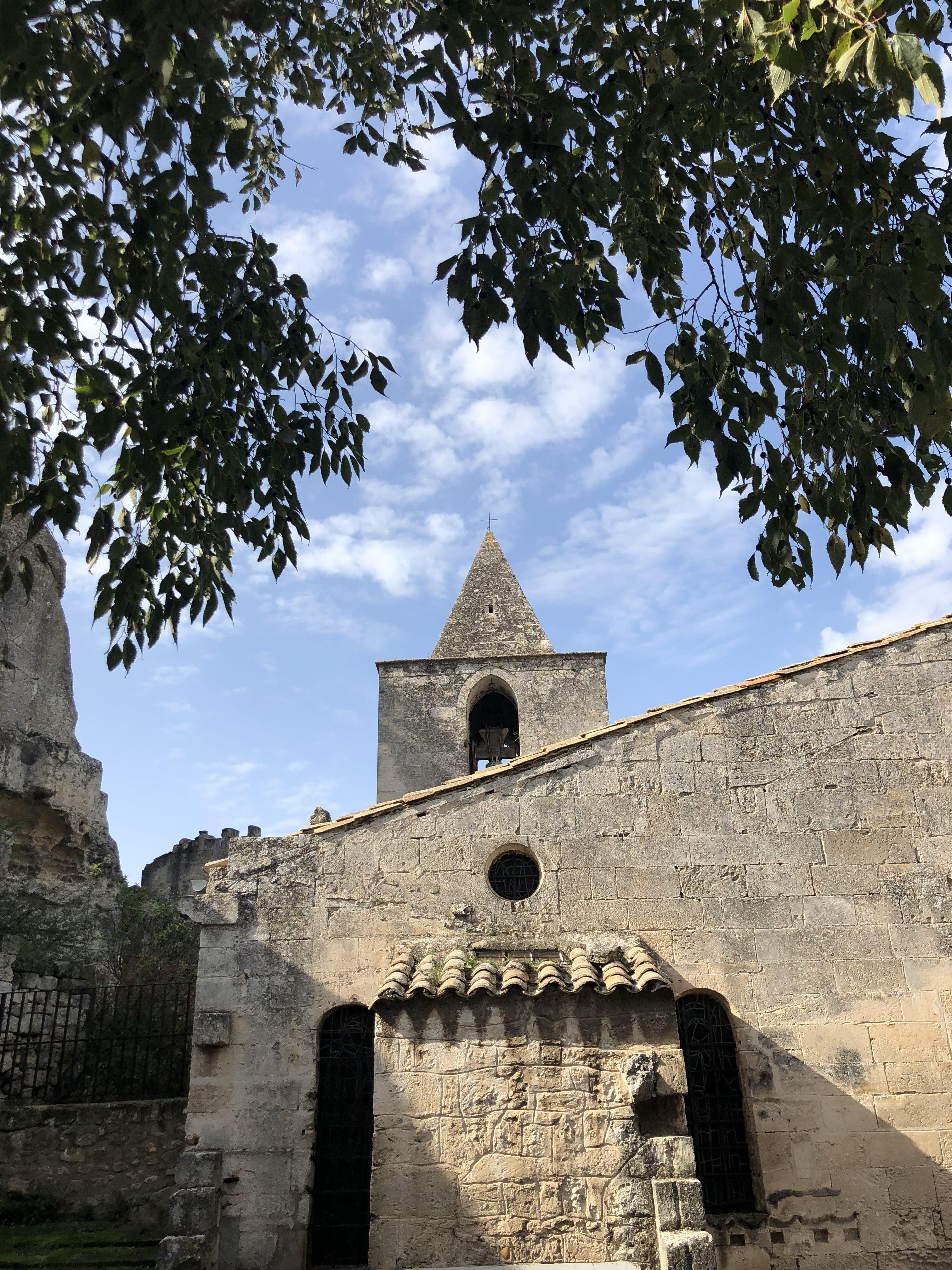 Les Baux de Provence église