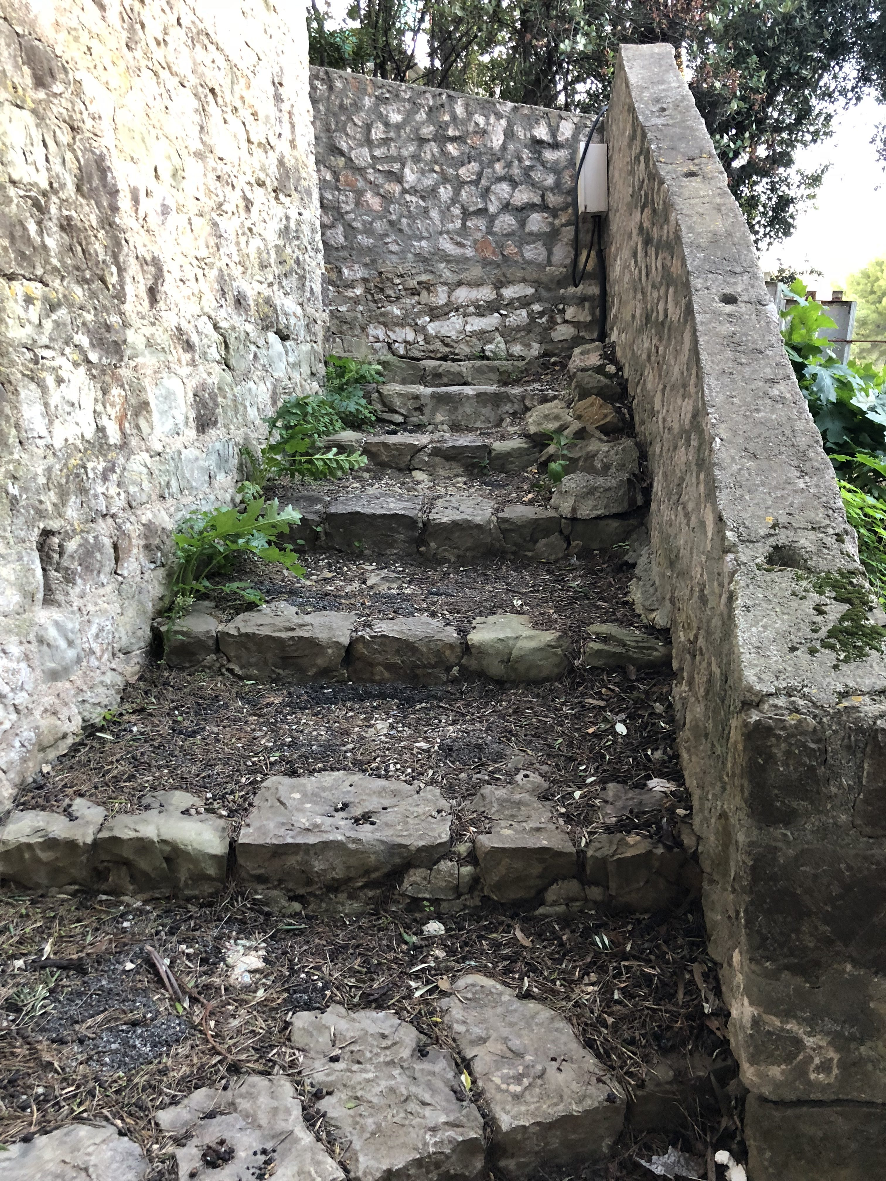 Escalier balade Beaulieu