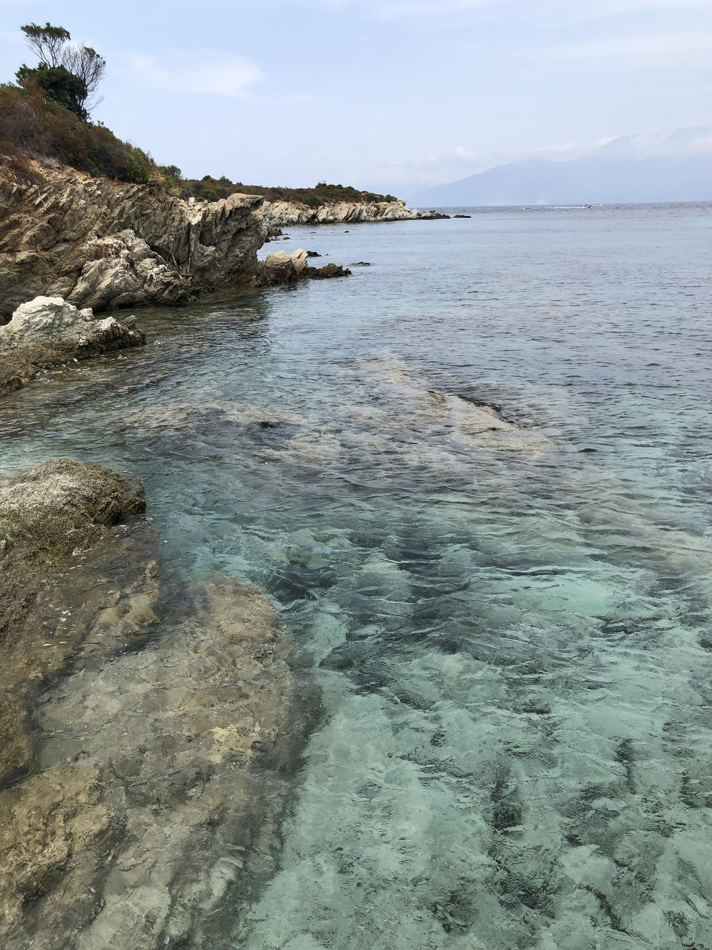 Plage du Lotu Corse