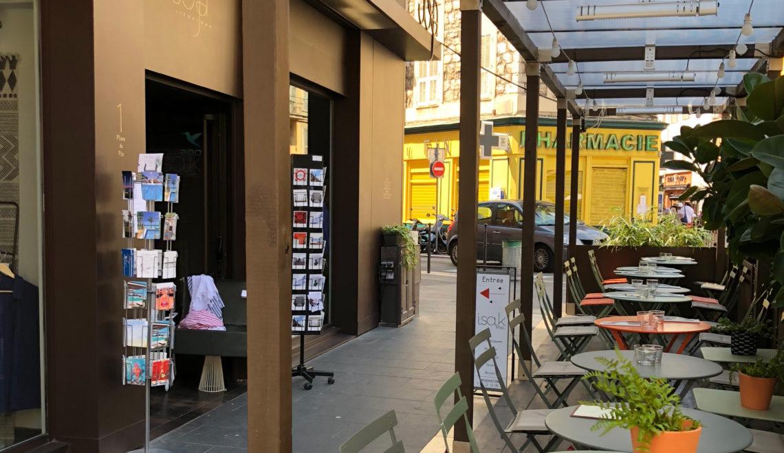 Petit stop ce midi au resto Joya à Nice